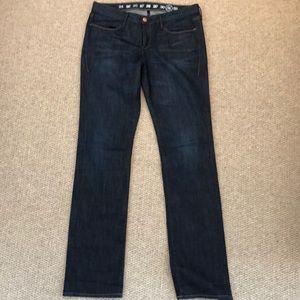 Earnest Sewn straight leg Decca jeans
